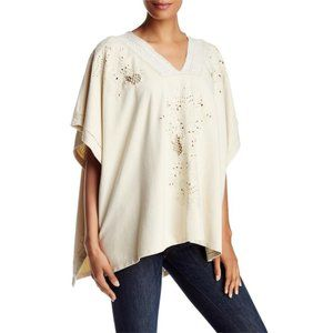Johnny Was 4 Love & Liberty Embroidered Poncho J27